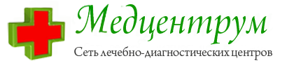 Логотип Медцентрума